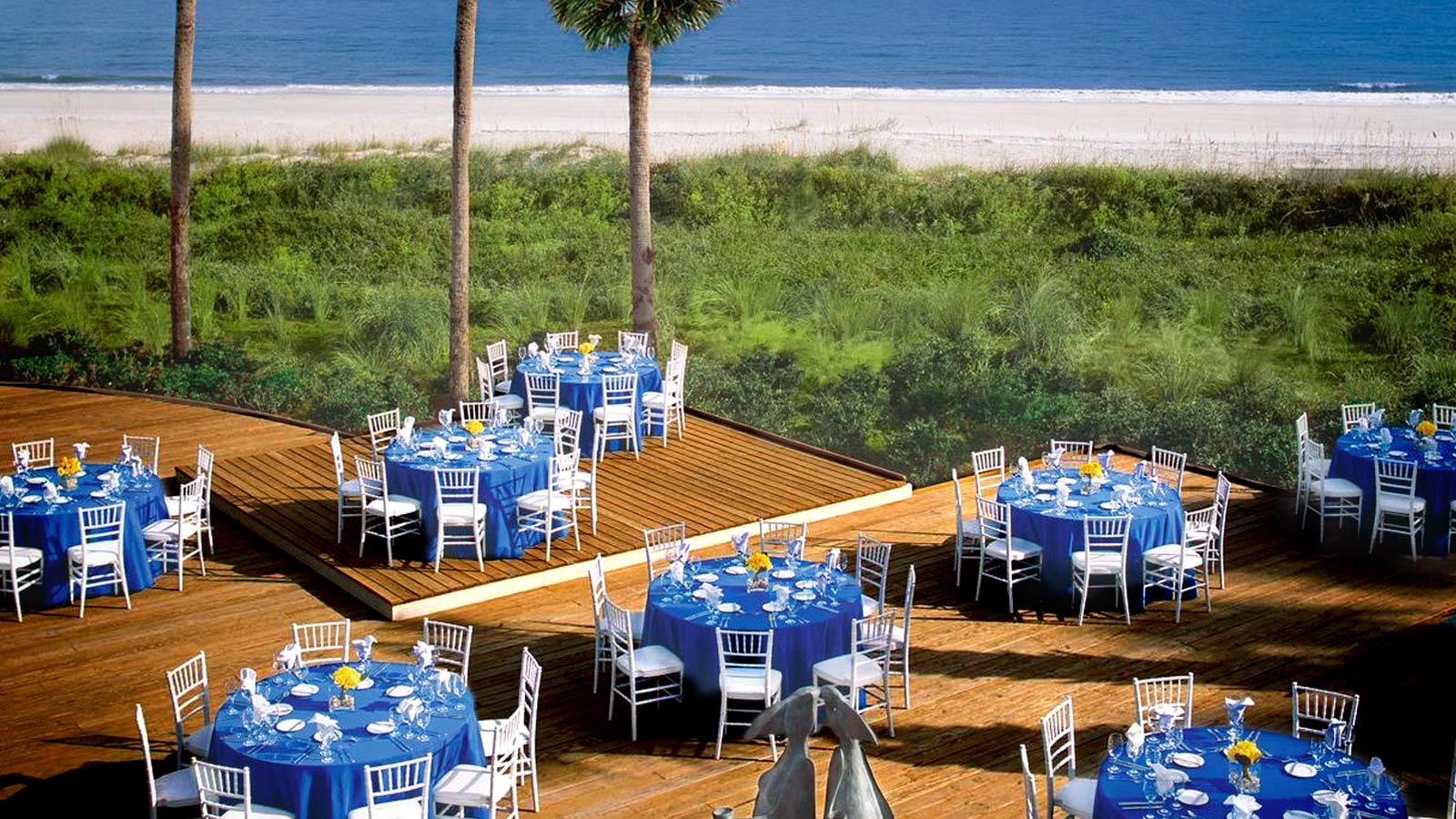 Hilton Head Meetings - Oceanfront Deck Event