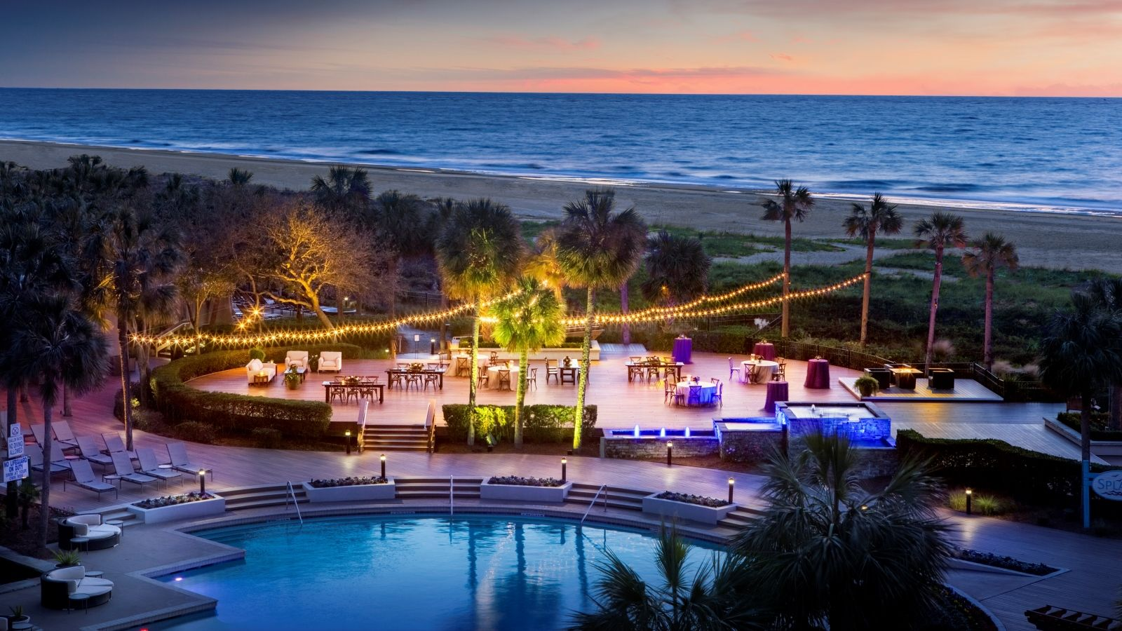 Complimentary Welcome Reception - Oceanfront Reception